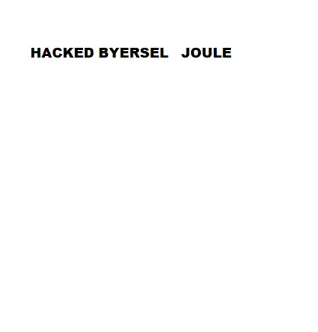 HACKED BY ERSELJOULE